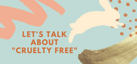 lets talk about cruelty free