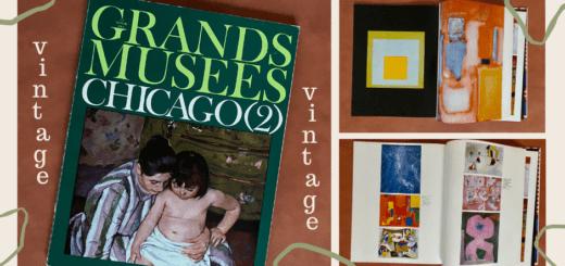 top image of vintage artbook